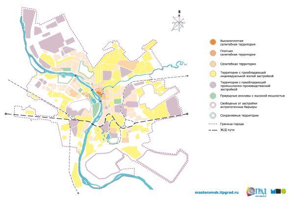 Карта разреженности