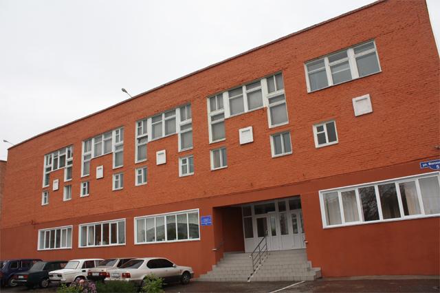 Омский техникум техн маш_здание