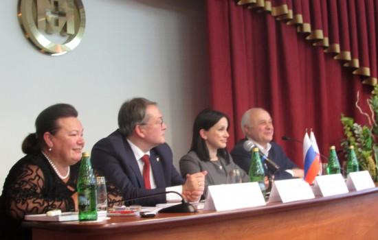 Круглый стол с представителями Торгово-промышленной палаты РФ и Фонда развития промышленности
