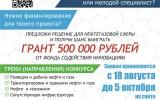 «Умник-Цифровой нефтегаз» — всероссийский конкурс с грантами по 500 тысяч рублей для студентов, инженеров, преподавателей и молодых учёных в нефтегазовой отрасли
